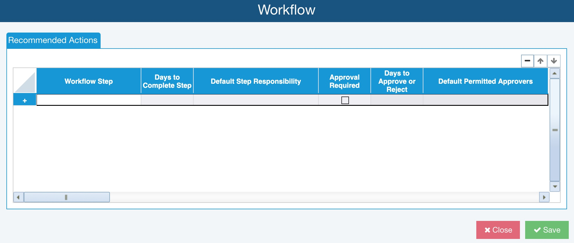 FMEA Workflow and Approvals